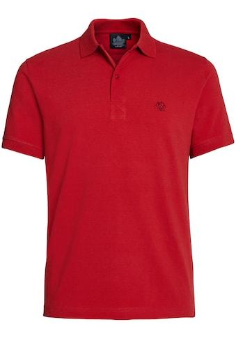 AHORN SPORTSWEAR Poloshirt mit dezenter Stickerei kaufen