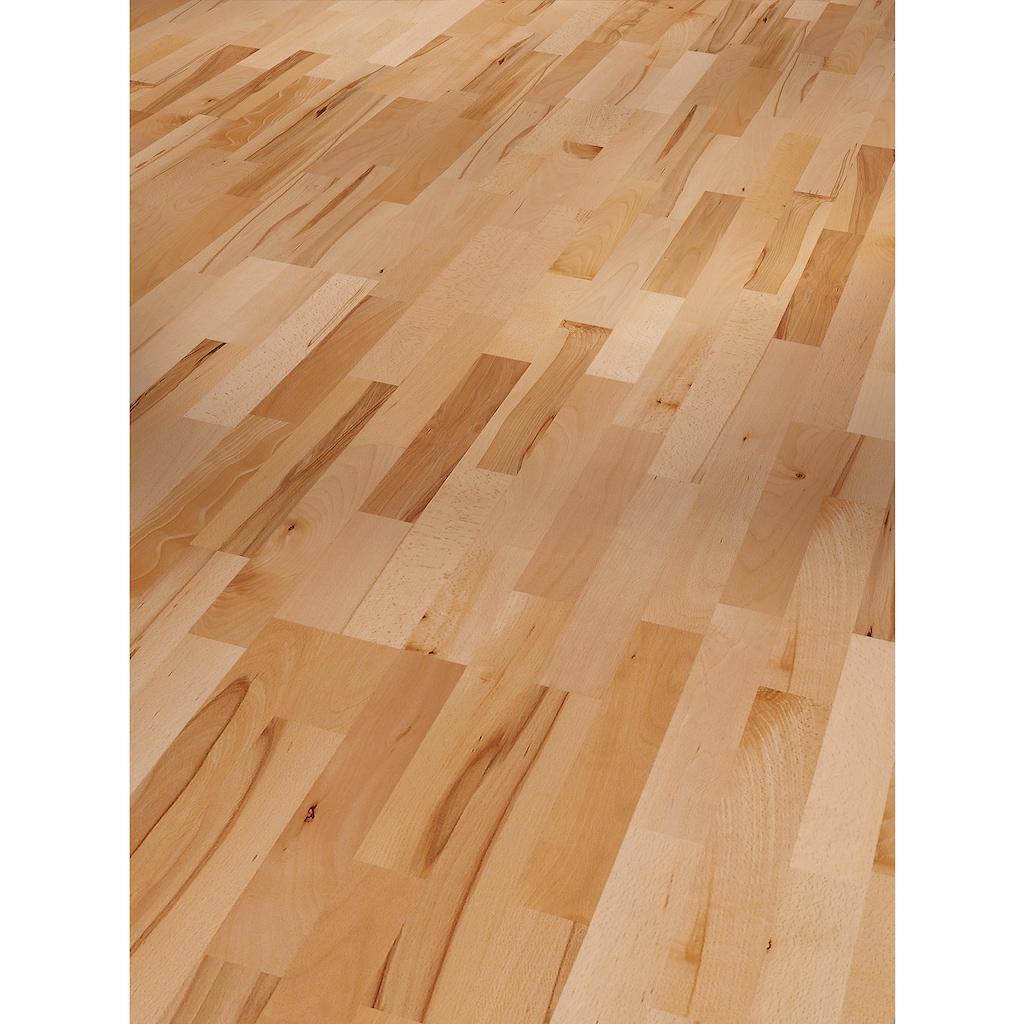 PARADOR Parkett »Basic Rustikal - Buche, lackiert«, ohne Fuge, 2200 x 185 mm, Stärke: 11,5 mm, 4,07 m²