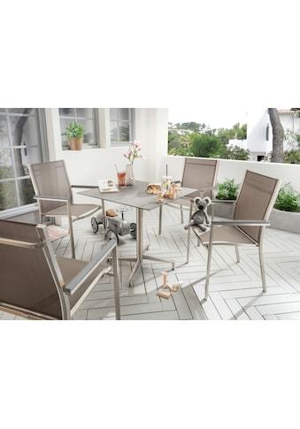 Destiny Gartenmöbelset »Macao / Loft«, Tischplatte besonders Kratz- und stoßfest kaufen