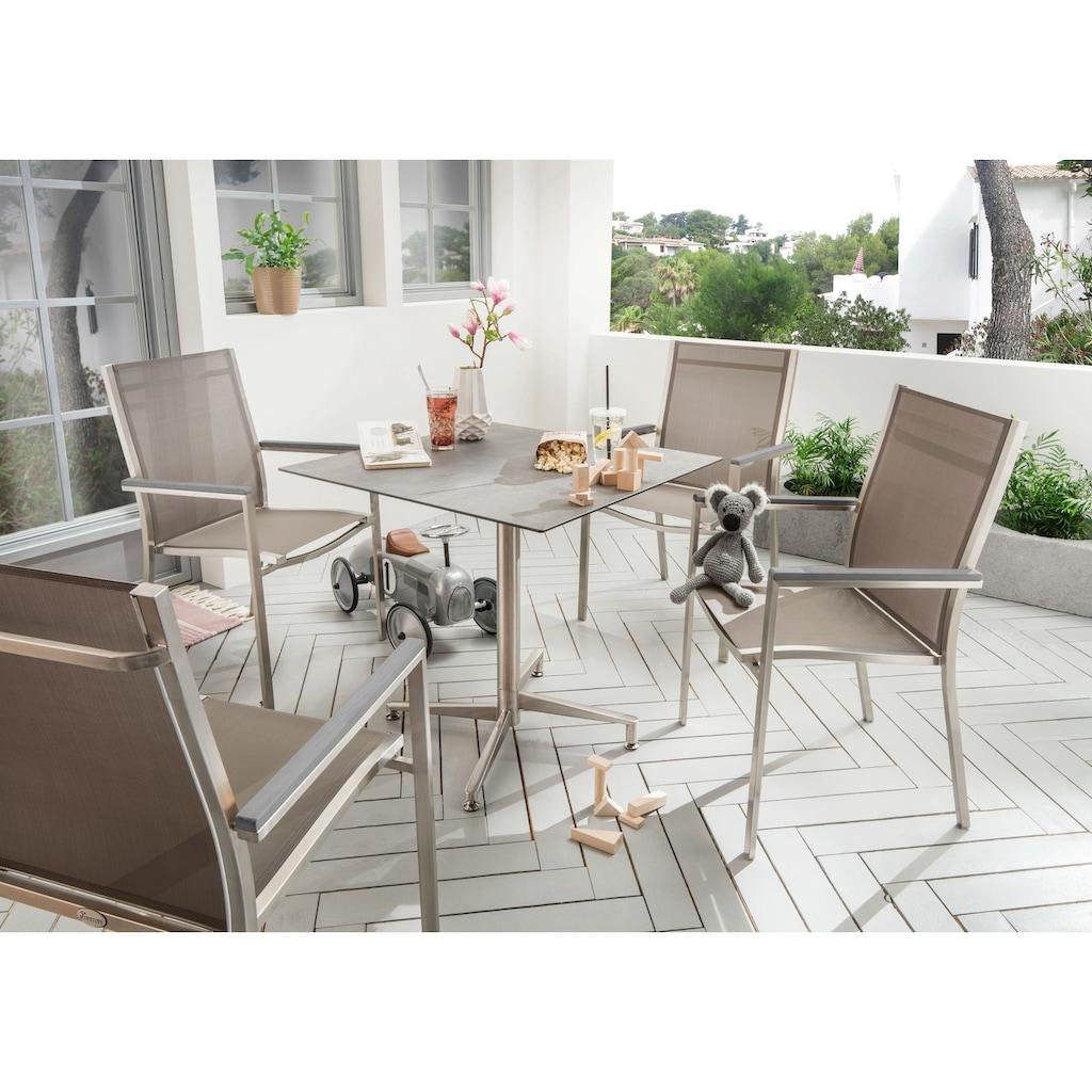 Destiny Gartenmöbelset »Macao / Loft«, Tischplatte besonders Kratz- und stoßfest
