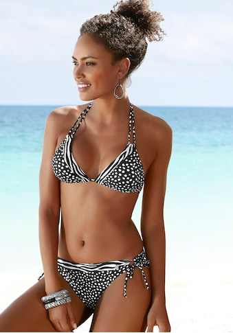 LASCANA Bikini-Hose »Safari«, mit seitlichen Bindebändern kaufen