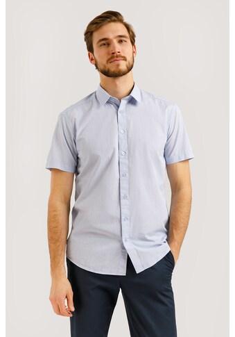 Finn Flare Kurzarmhemd, mit feinem Karo-Muster kaufen