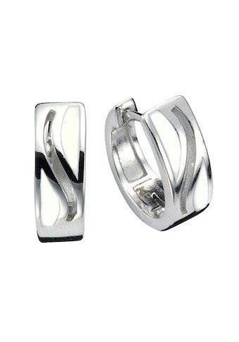 Vivance Klappcreolen »925/- Sterling Silber Lack«, rhodiniert kaufen