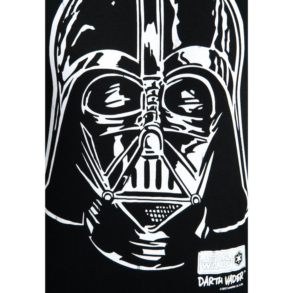 LOGOSHIRT T-Shirt »Star Wars Darth Vader«, mit lizenziertem Originaldesign