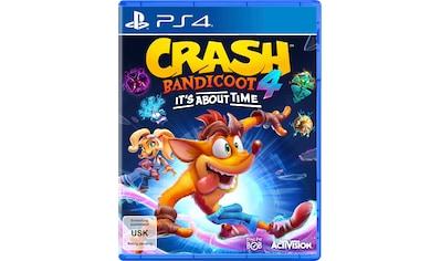 Activision Spiel »Crash Bandicoot 4 - It´s About Time«, PlayStation 4 kaufen
