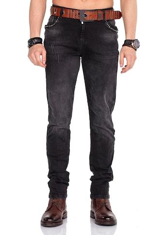 Cipo & Baxx Straight-Jeans, im Slim Fit-Schnitt kaufen