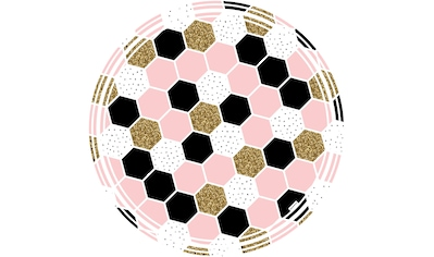 MYSPOTTI Packung: Vinylbodenmatte »Vania«, rund, wasserfest und statisch haftend kaufen