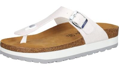 COSMOS Comfort Zehentrenner »Lederimitat« kaufen