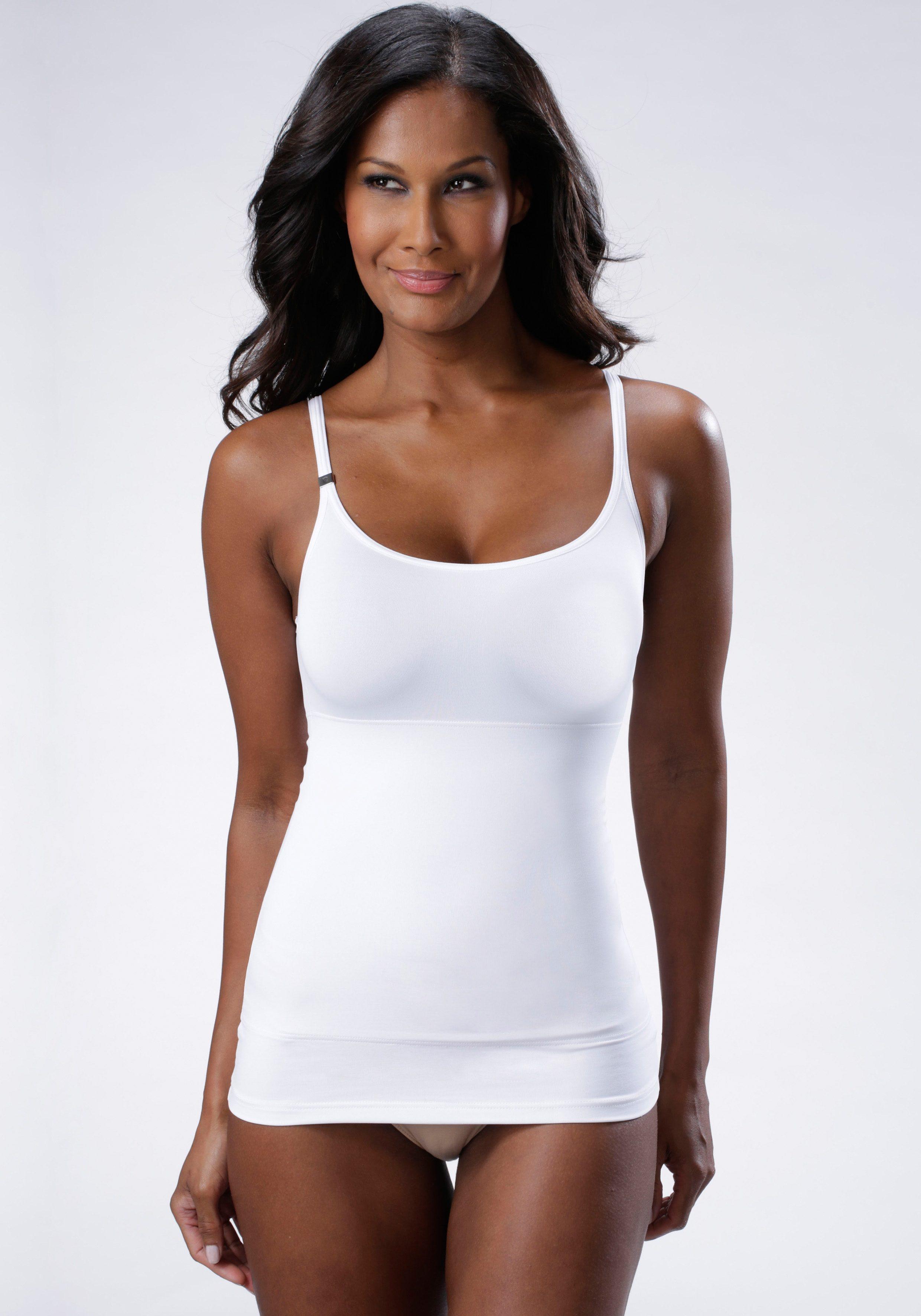 Triumph Shaping Top Trendy Sensation Shirt01 | Unterwäsche & Reizwäsche > BHs > Push-up-BHs | Weiß | Elasthan | Triumph