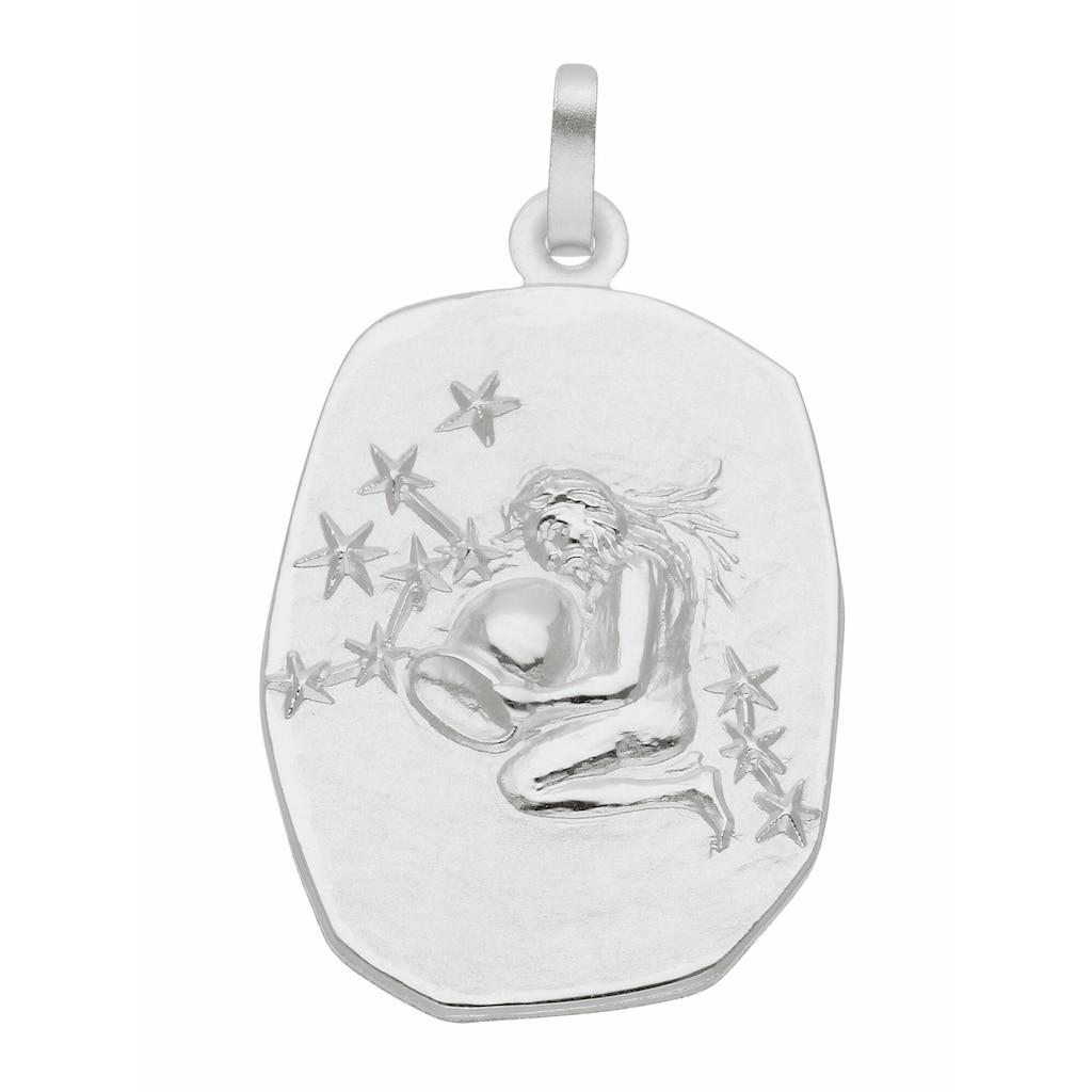Adelia´s Kettenanhänger »925 Silber Sternzeichen Anhänger Wassermann«