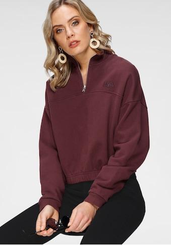 Levi's® Sweatshirt »Quarter Zip« kaufen