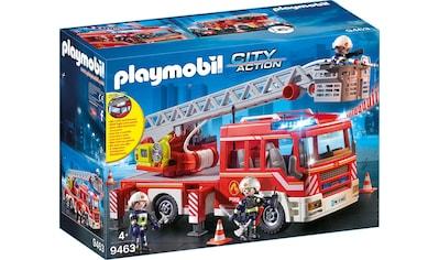 Playmobil® Konstruktions-Spielset »Feuerwehr-Leiterfahrzeug (9463), City Action«, Made in Germany kaufen