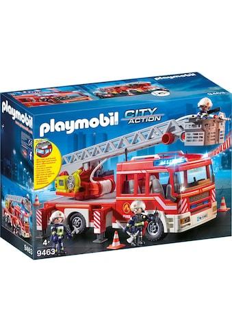 """Playmobil® Konstruktions - Spielset """"Feuerwehr - Leiterfahrzeug (9463), City Action"""", Kunststoff kaufen"""