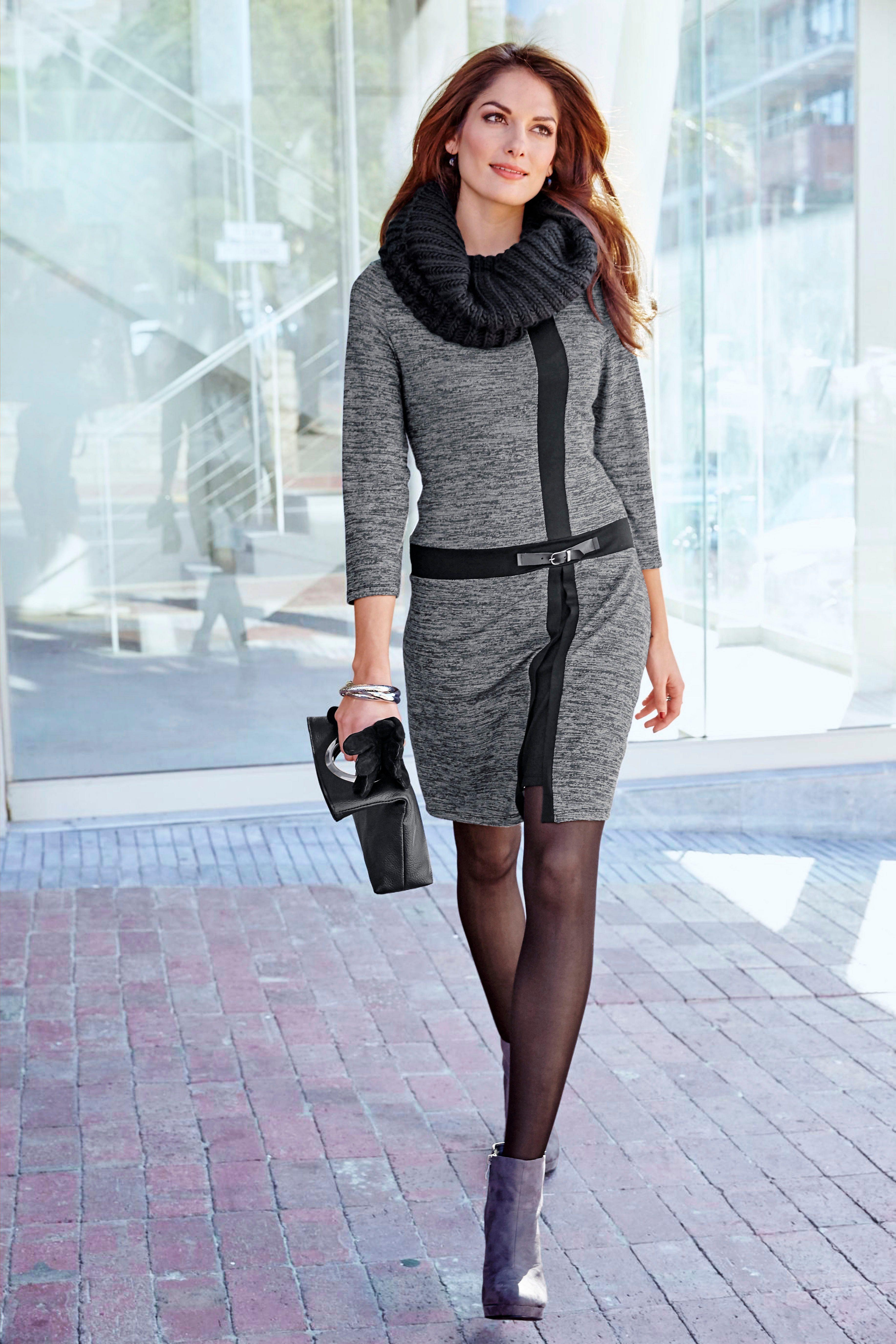 Aniston SELECTED Strickkleid