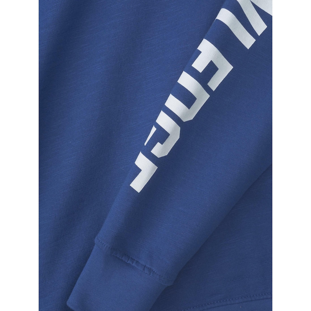 TOM TAILOR Sweatshirt »Sweatshirt mit Schrift-Print«