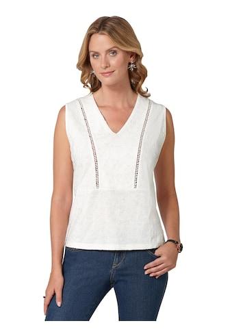 Ambria Shirttop aus reiner Baumwolle kaufen