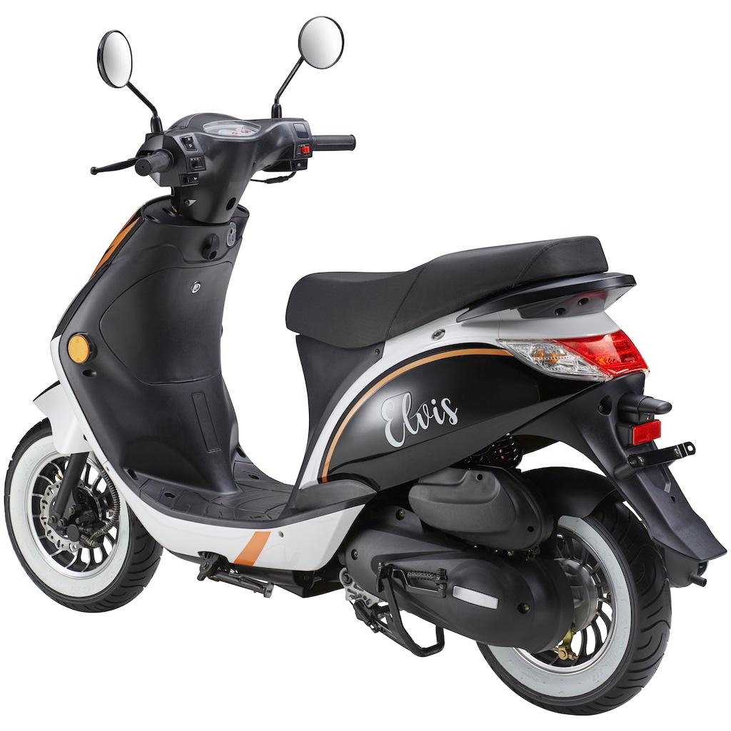 Luxxon Mofaroller »Elvis«, 45 cm³, 45 km/h, Euro 4, 2,9 PS