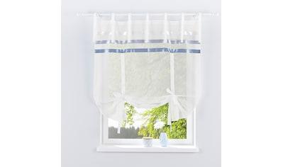 Bindegardine, »EBY«, my home, Bindebänder 1 Stück kaufen