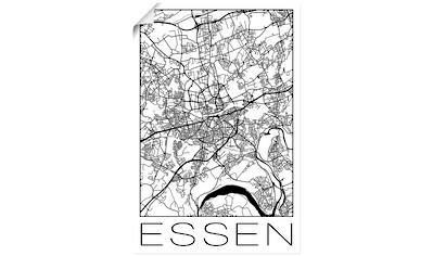 Artland Wandbild »Retro Karte Essen Deutschland« kaufen