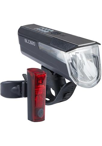Büchel Fahrradbeleuchtung »BLC 820 + Duo LED Stoptech«, (Set, 5, Front- und Rücklicht) kaufen