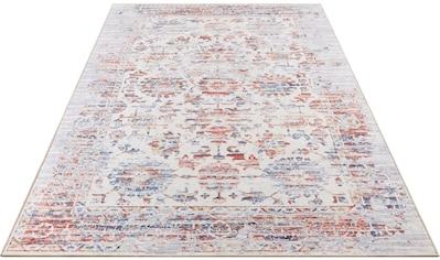 my home Teppich »Miles«, rechteckig, 6 mm Höhe, Vintage, Orient-Optik, Wohnzimmer kaufen