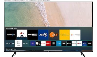 "Samsung LED-Fernseher »55TU7079«, 138 cm/55 "", 4K Ultra HD, Smart-TV kaufen"