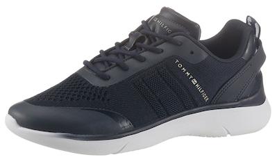 TOMMY HILFIGER Keilsneaker »KNITTED LIGHT SNEAKER«, mit Metallicdetails kaufen