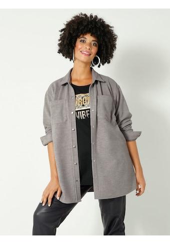 Angel of Style by HAPPYsize Klassische Bluse, mit Brusttaschen kaufen