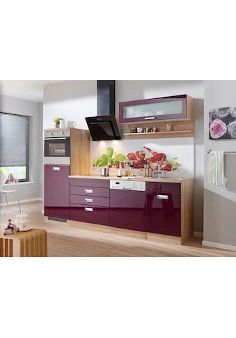 HELD MÖBEL Küchenzeile »Fulda«, mit E-Geräten, Breite 250 cm kaufen