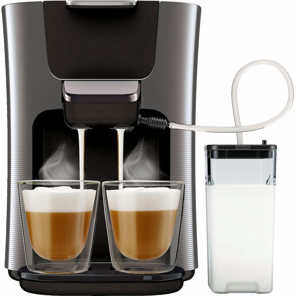 Senseo Kaffeepadmaschine »HD6574/50 Latte Duo«, inkl. Gratis-Zugaben im Wert von 14,- UVP