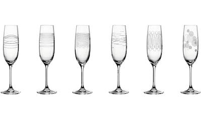 LEONARDO Sektglas »Casella«, (Set, 6 tlg.), 190 ml kaufen