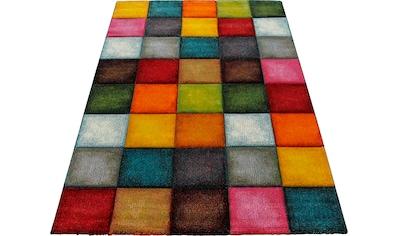 merinos Teppich »Belis 22605«, rechteckig, 18 mm Höhe, Wohnzimmer, moderner... kaufen