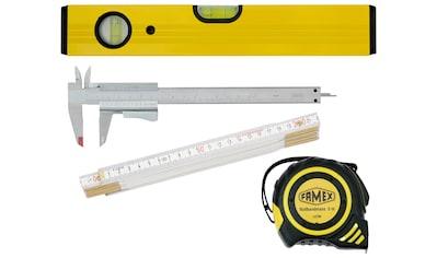 FAMEX Wasserwaage »Messwerkzeuge«, Set 4 - tgl. kaufen