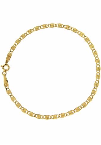 Firetti Goldkette »Plättchenkettengliederung, Diamantier, Glänzend, 3 mm breit« kaufen