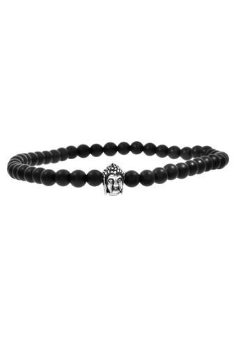 Zeeme Armband »925/ -  Sterling Silber Achat schwarz« kaufen