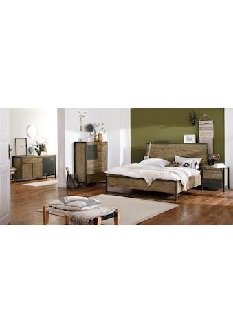 Quadrato Bett »Mirage«, mit Metallschrauben als Dekorationselement, in zwei verschiedenen Breiten erhältlich kaufen