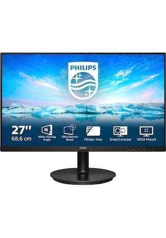 "Philips LCD-Monitor »271V8LA/00«, 68,6 cm/27 "", 1920 x 1080 px, 4 ms Reaktionszeit, 75 Hz kaufen"