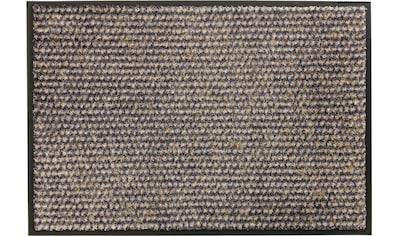 SCHÖNER WOHNEN-Kollektion Fußmatte »Miami 002 WM«, rechteckig, 7 mm Höhe, Fussabstreifer, Fussabtreter, Schmutzfangläufer, Schmutzfangmatte, Schmutzfangteppich, Schmutzmatte, Türmatte, Türvorleger, waschbar kaufen