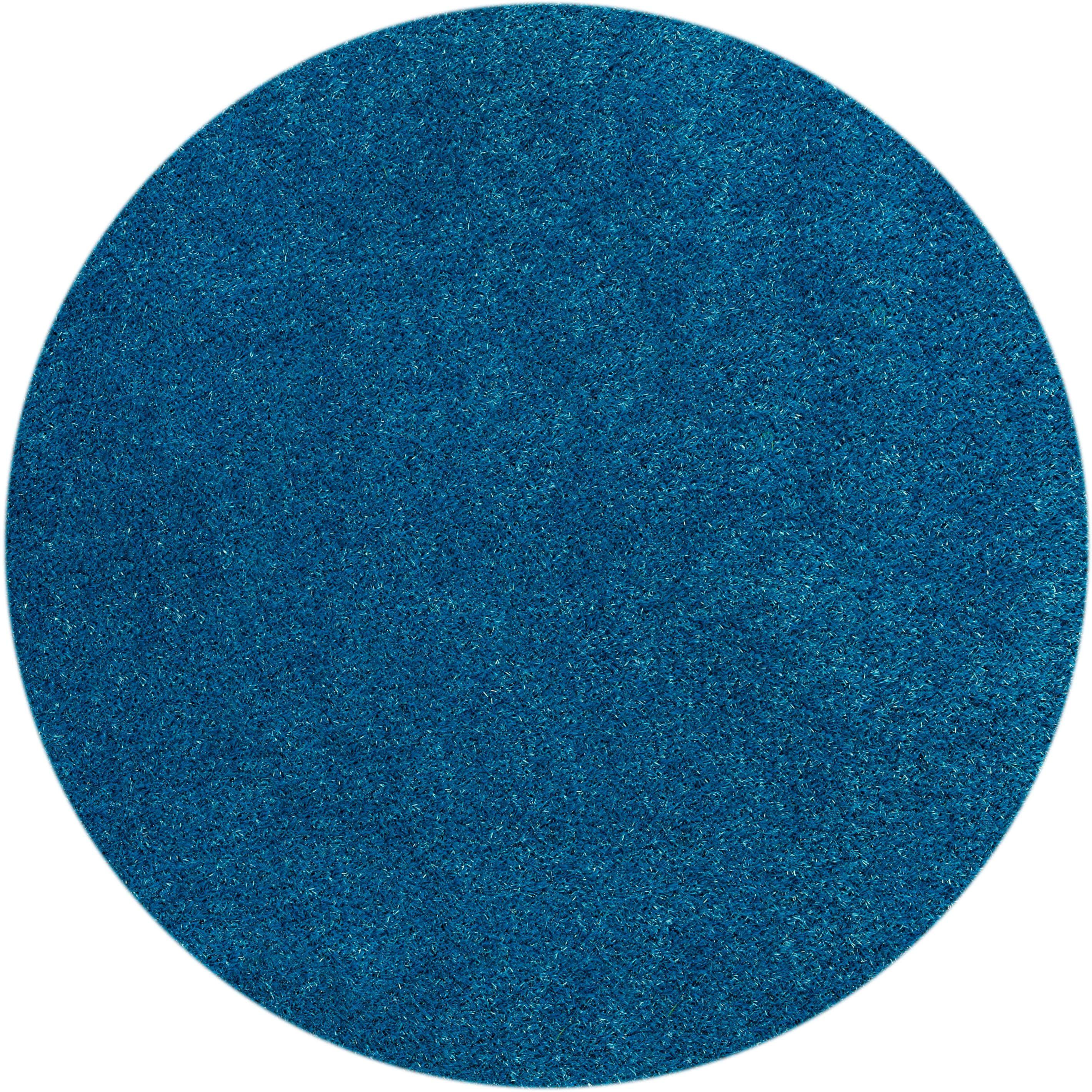 Teppich Miami Style Barbara Becker rund Höhe 23 mm handgetuftet