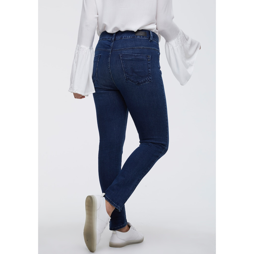 Love to be by LTB Slim-fit-Jeans »VIVIEN«, Low Rise mit breitem 2- Knopf- Bund