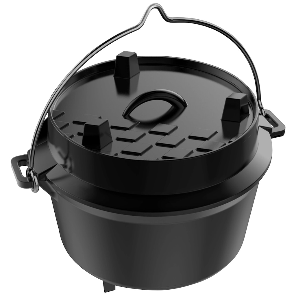 Tepro Grilltopf »Dutch Oven S«, Gusseisen, 4 Liter