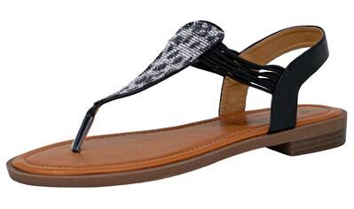 Fitters Footwear Sandale »FRIDA«, mit aufwendiger Steinchen-Verzierung kaufen