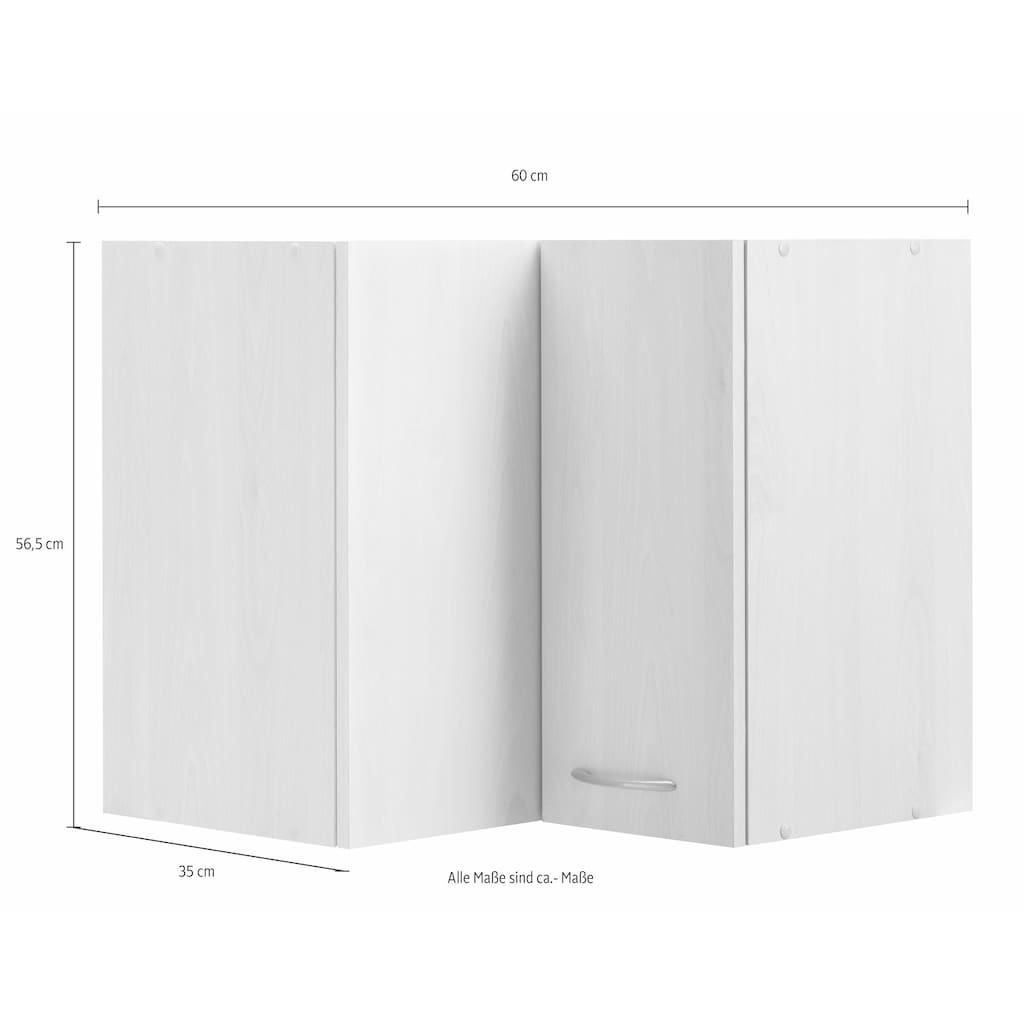 wiho Küchen Eckhängeschrank »Kiel«, 60 cm breit