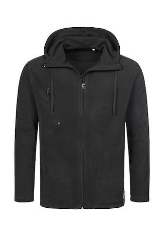 Stedman Fleecejacke »Outdoor Hooded Jacket«, mit komfortabler Kapuze kaufen