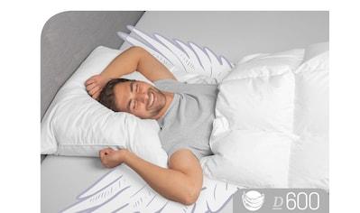 Schlafstil 3-Kammer-Kopfkissen »D600«, (1 St.), hergestellt in Deutschland,... kaufen