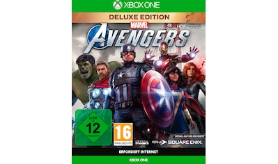 SquareEnix Spiel »Marvel's Avengers Deluxe Edition«, Xbox One kaufen