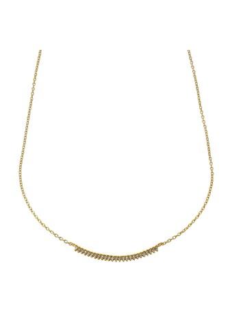 Jacques Lemans Collier 375/ -  Gold mit Zirkonia kaufen