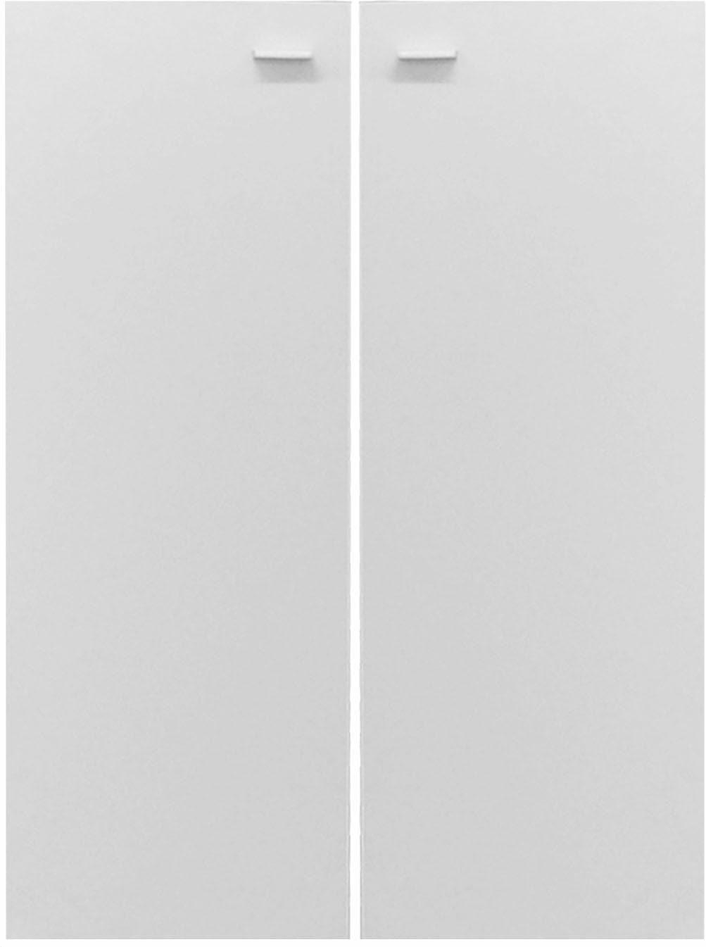 Schranktür Mio, (2 Stk.) weiß Zubehör für Kleiderschränke Möbel