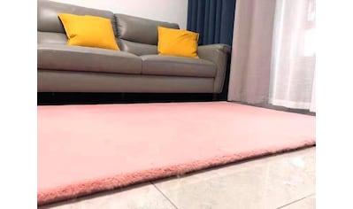 RESITAL The Voice of Carpet Fellteppich »Soft 7000«, rechteckig, 30 mm Höhe, Kunstfell, Wohnzimmer kaufen