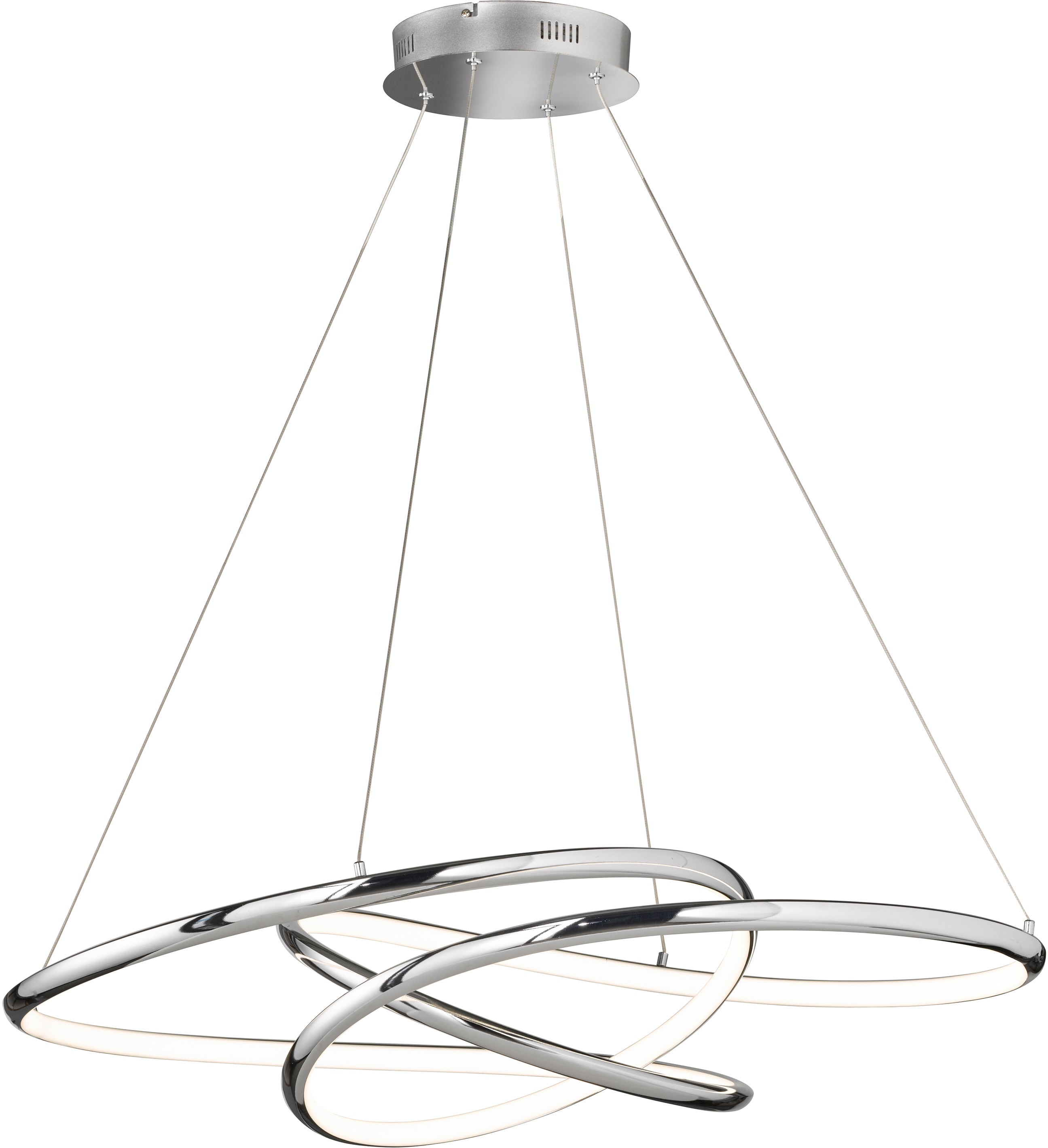FISCHER & HONSEL LED Pendelleuchte Galaxy, LED-Board, 1 St., Warmweiß